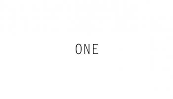 Typography] Ed Sheeran - One